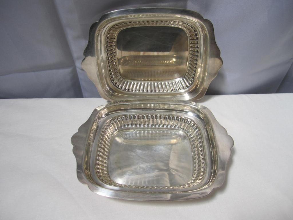 18: Pair Gorham Sterling Open Dishes (20 oz.) ***