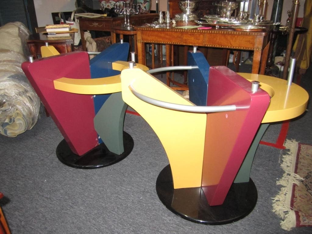 224: Pair Whimsical Pub Table Bases