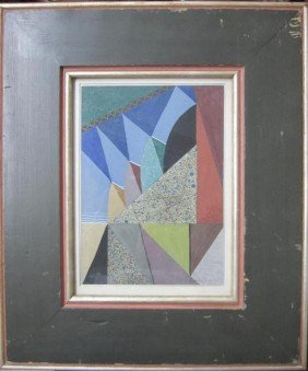 265: Frederico Kromka (Czech 1890 - 1942) Gouache