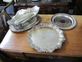 23: Assorted Silver Plated Articles