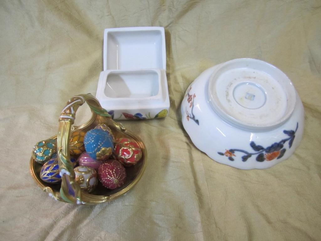 40: Assorted Porcelain Including Egg Basket - 2