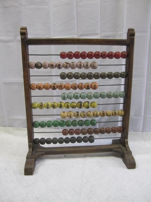 10: Standing Painted Abacus