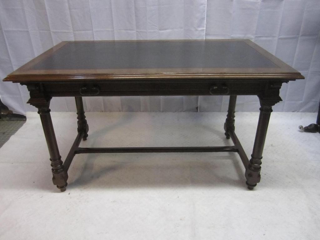 14: Late 19th Century English Bankers Desk