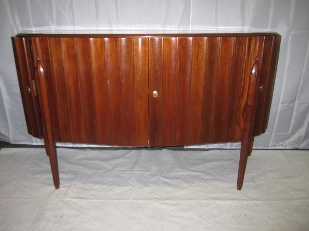 16: Jules LeLeu Style Art Deco Sideboard