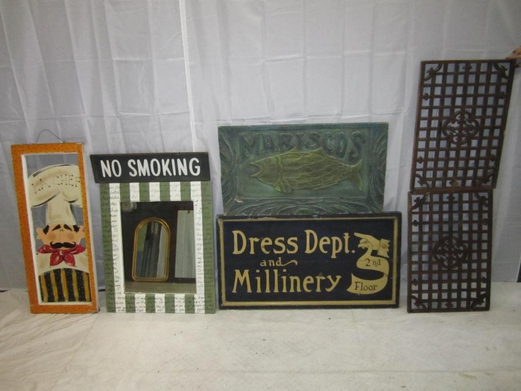 19: Assorted Signs and Latticework