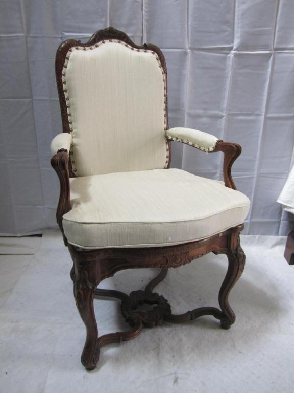 23: Irish Style Open Arm Chair
