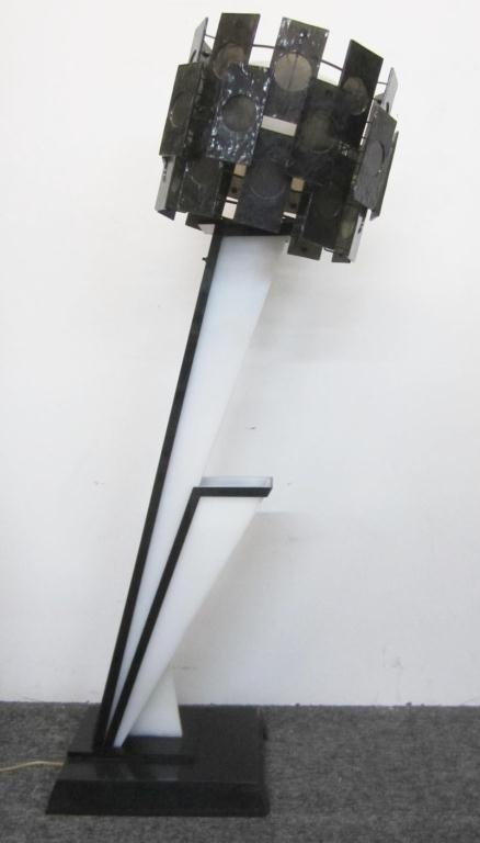 133: 1950's Retro Lucite Floor Lamp