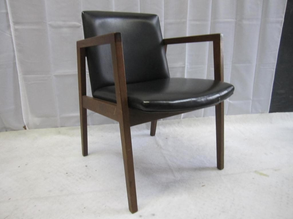 136: Marble Imperial Mid-Century Arm Chair