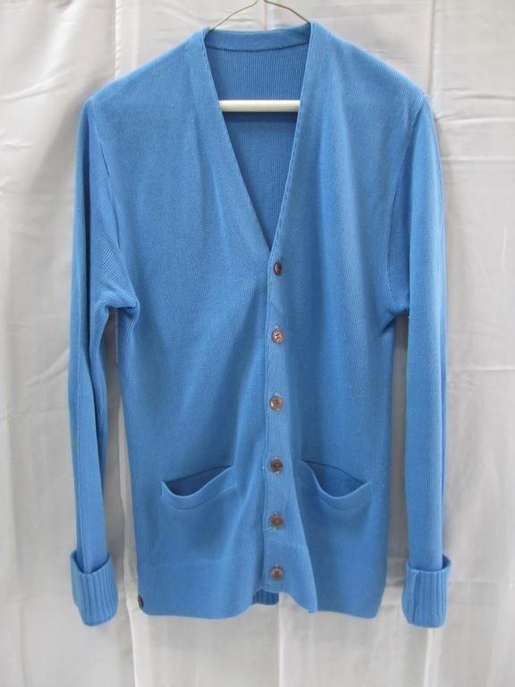 3: Jack Kevorkian's Blue Cardigan Sweater