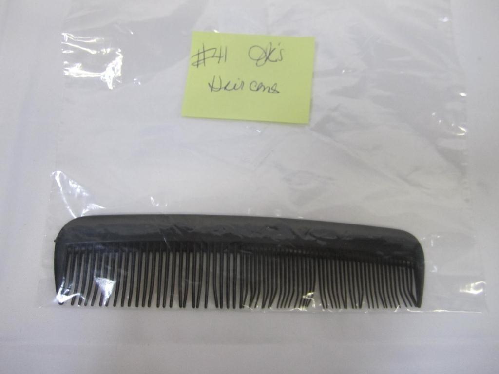 7: Jack Kevorkian's Black Hair Comb