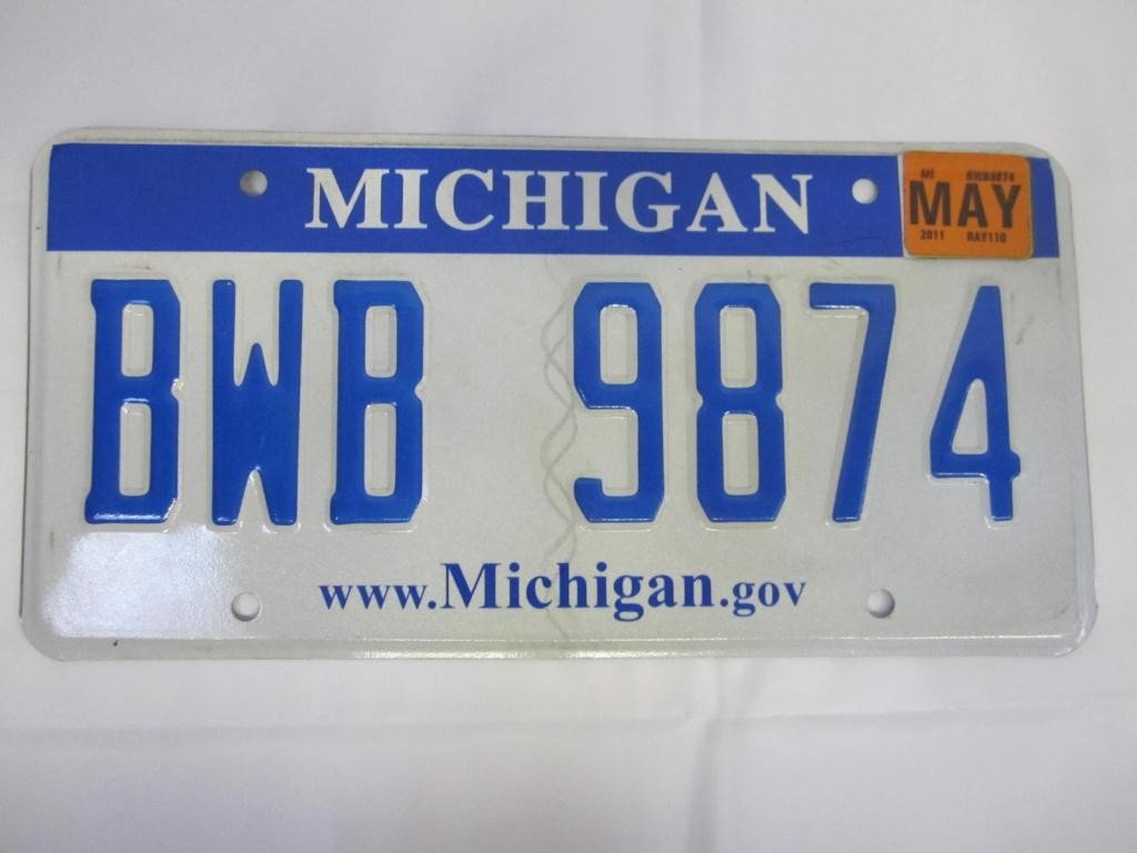 9: Kevorkian's Last License Plate