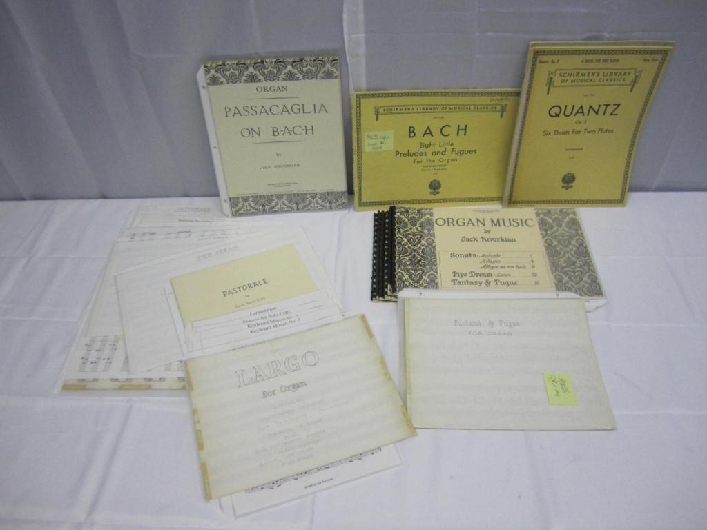 12: Kevorkian's Music Lot of Original Compositions +