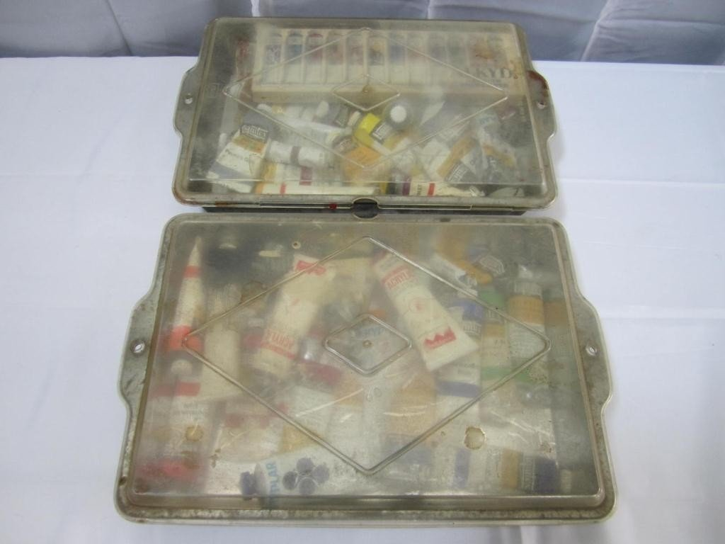 14: Kevorkian's Spare Paint Boxes