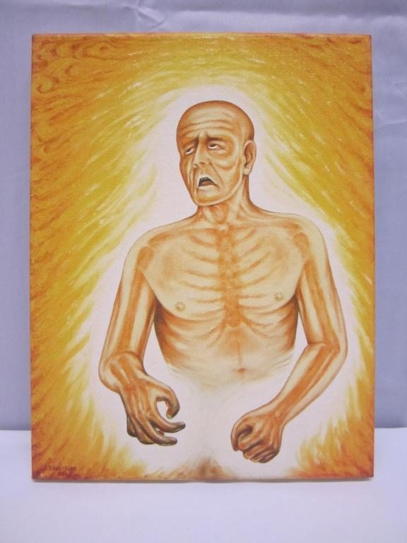 """15: Copy of Kevorkian Painting """"Fever"""""""