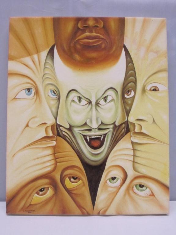 "17: Copy of Kevorkian Painting ""Brotherhood"""