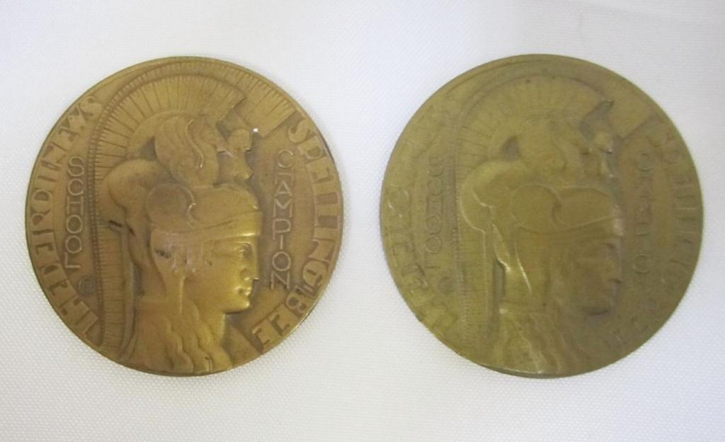 18: Jack and Margaret Kevorkian Spelling Bee Medals