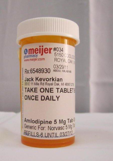 20: 4 Jack Kevorkian Prescription Bottles