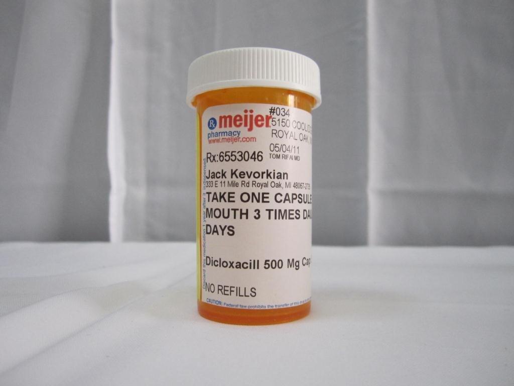 21: 4 Jack Kevorkian Prescription Bottles