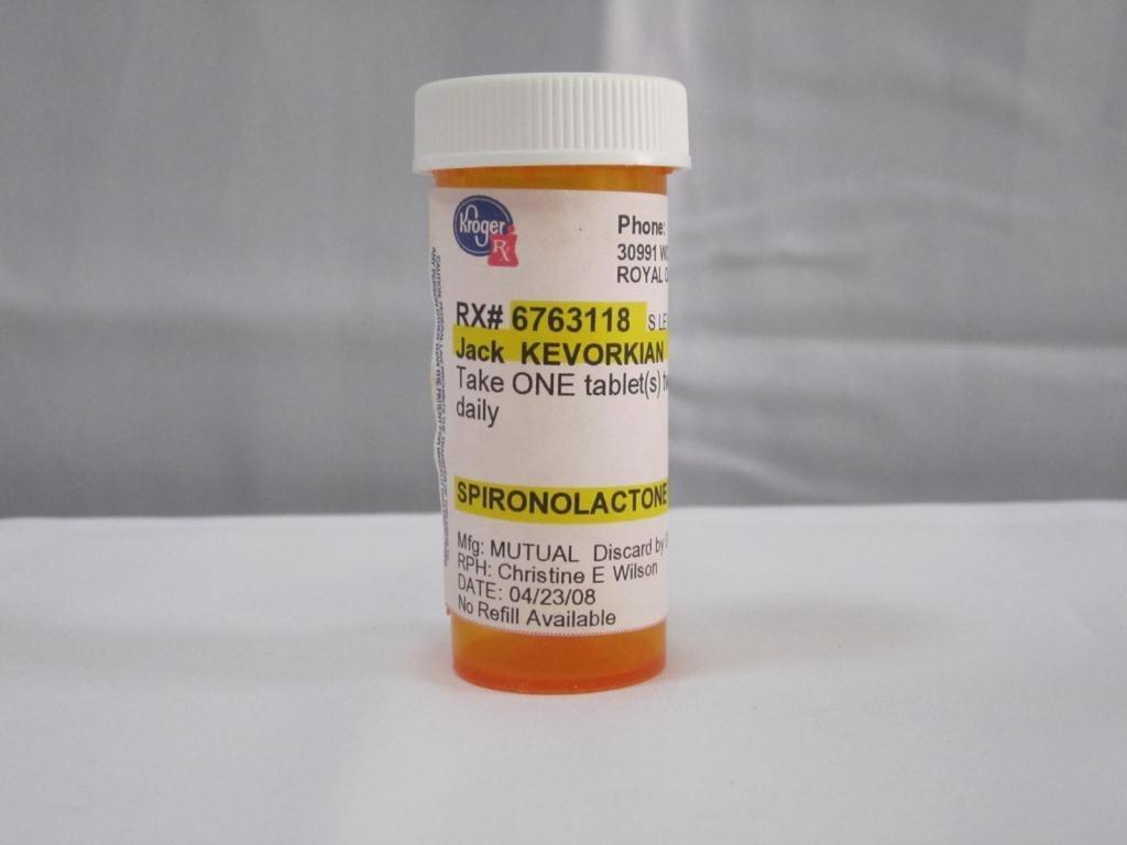 23: 4 Jack Kevorkian Prescription Bottles