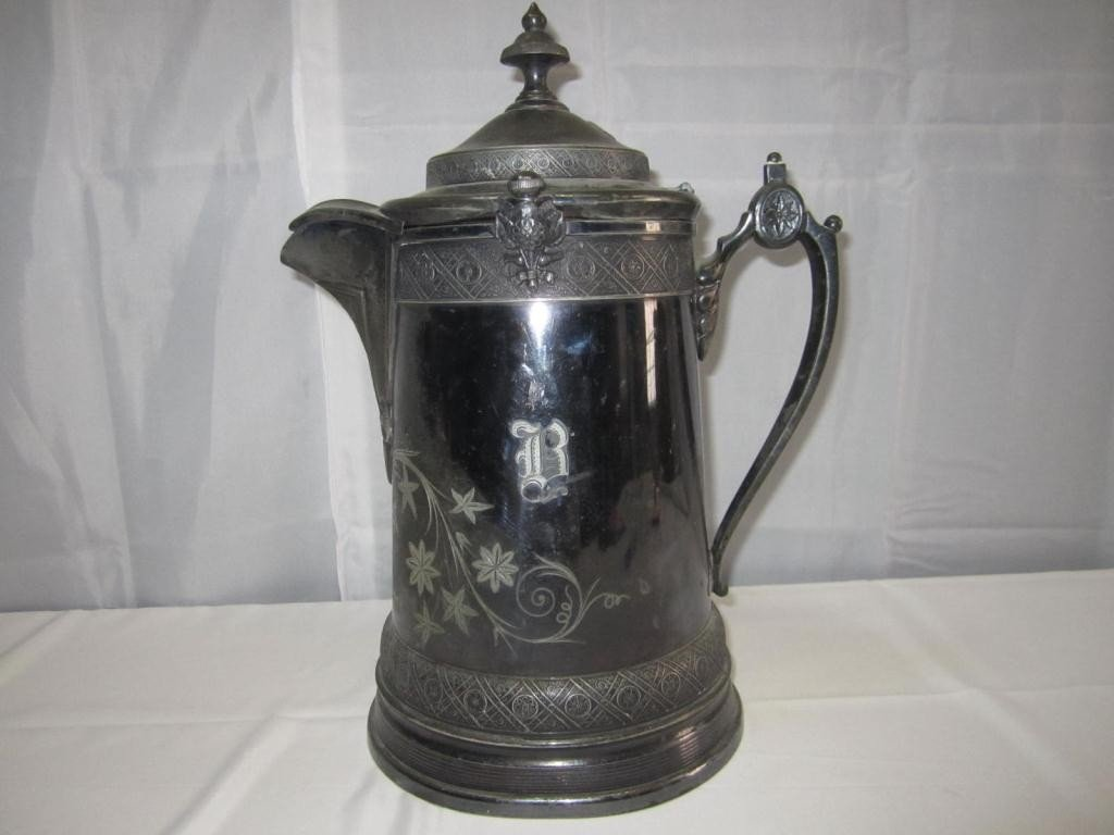 13: Reed & Barton Silver Plated Speakers Pitcher