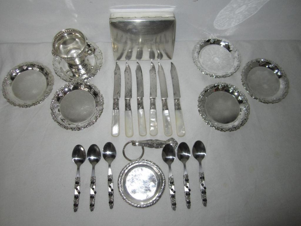 19: Assorted Silver Plated Articles