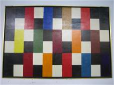 207: Fred Chance (American) - Oil on Board