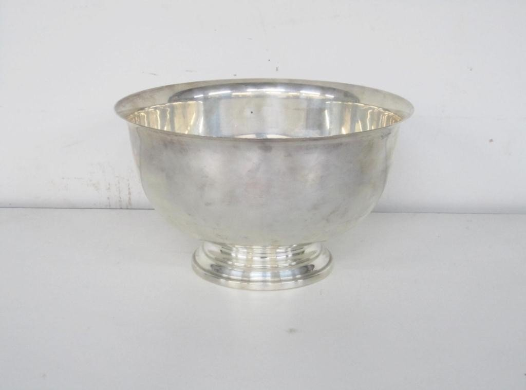 2: Amston Sterling Silver Revere Style Bowl