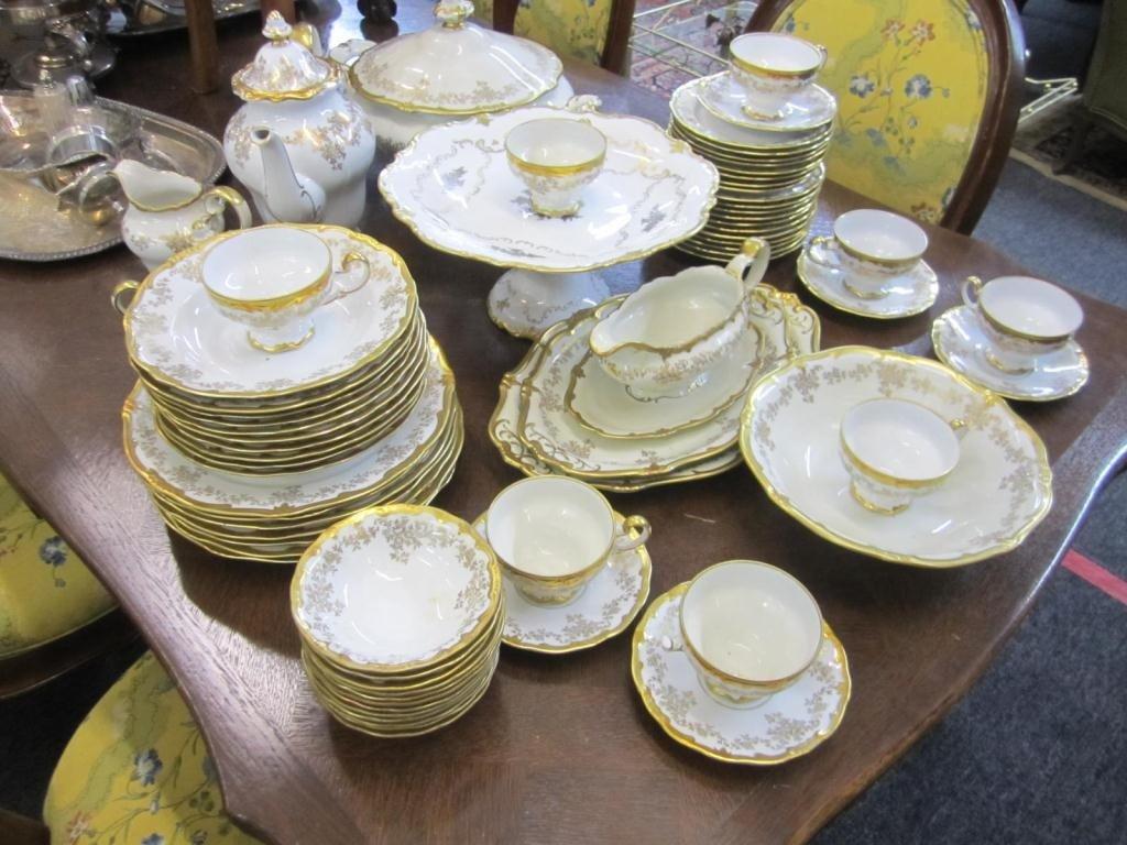275: 65 Piece Weimar Porcelain Dinner Set - 2