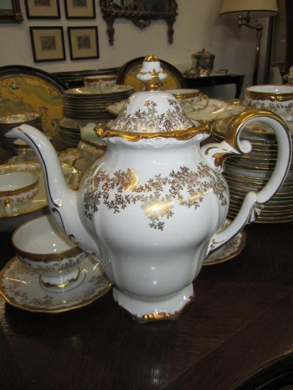 275: 65 Piece Weimar Porcelain Dinner Set - 3