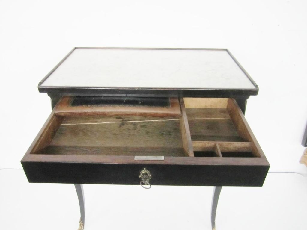 271: Antique French Vanity Table - 4