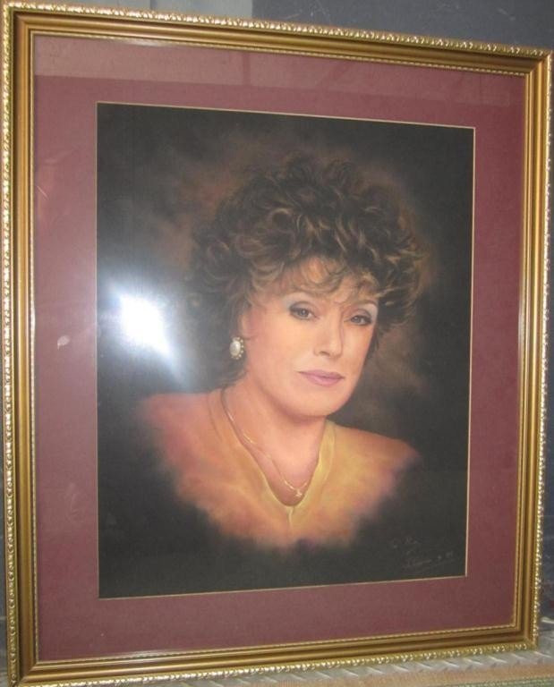 149: Portrait of Rue McClanahan by John Curran