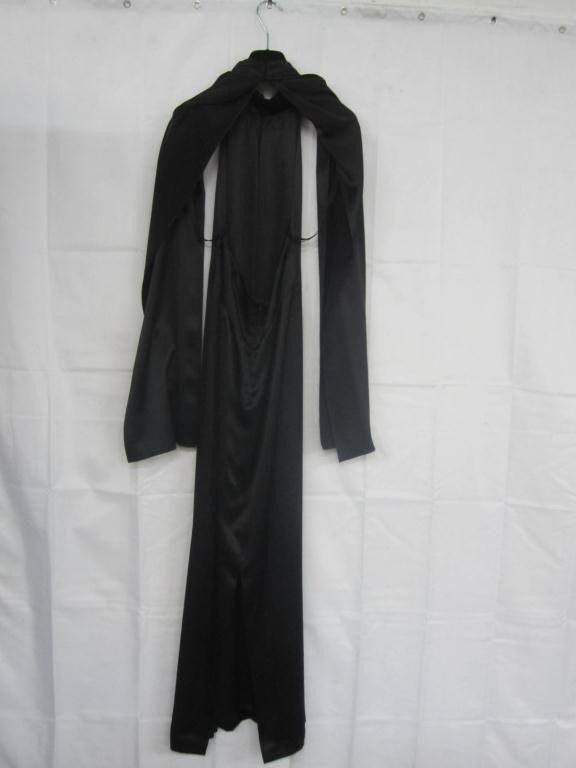 4: Guy Laroche Black Silk Gown
