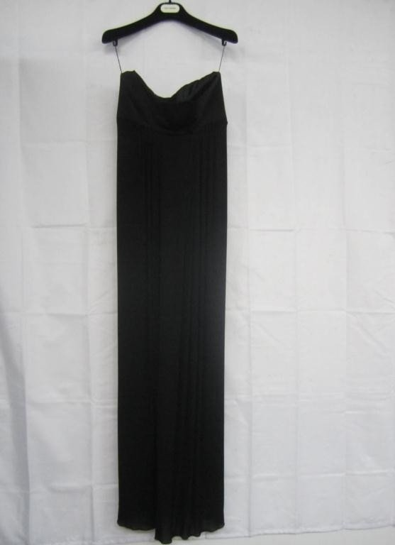 6: Guy Laroche Black Silk Gown