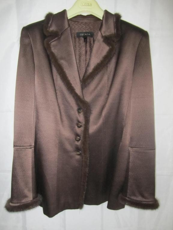 7: Escada Brown Jacket