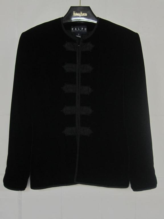 14: Ralph Lauren Black Velvet Jacket