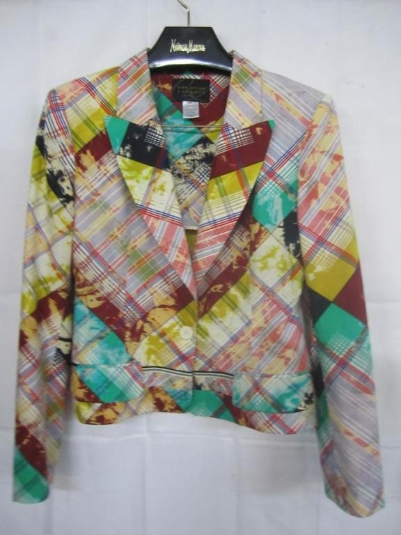 22: Christian Lacroix Multi Color Jacket