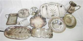 35 Assorted Silver Plated Articles