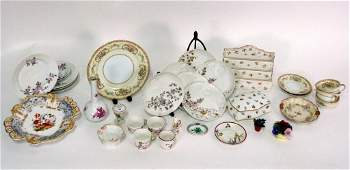32 Assorted Porcelain Articles  Herend