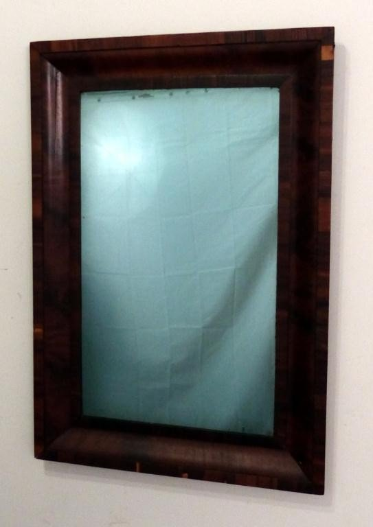 "50: Antique American Empire ""OGEE"" Mirror - 2"