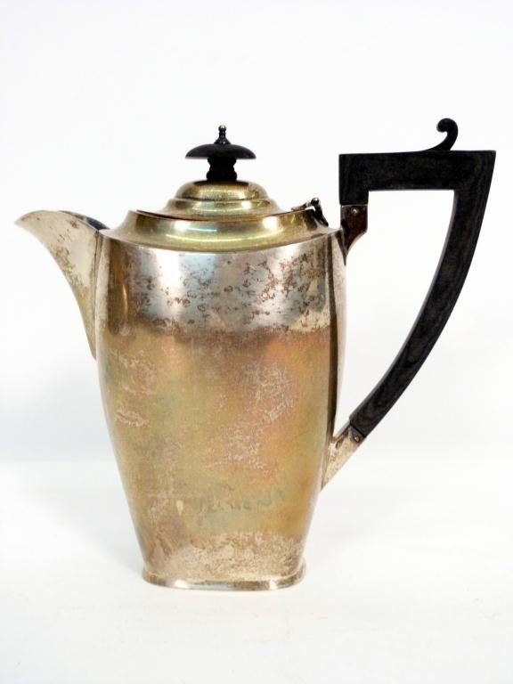 3: English Silver Tea Pot