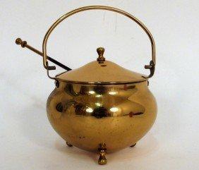 American Brass Miniature Coal Hod