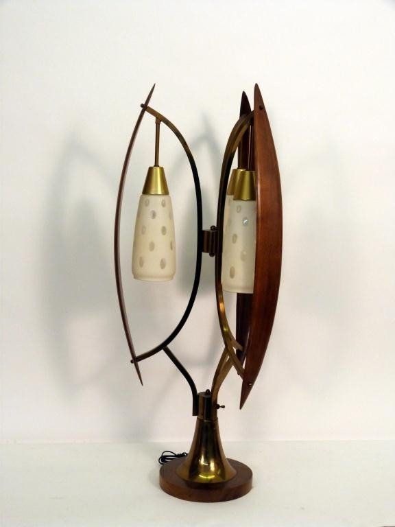 114: Mid-Century Table Lamp