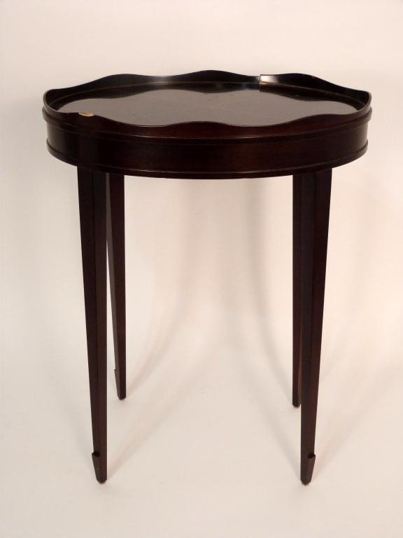 120: Baker Gallery Top Lamp Table