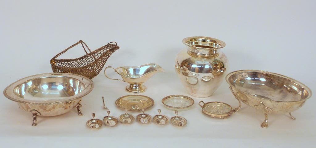 6: Assorted Silver Plate and Silver Articles