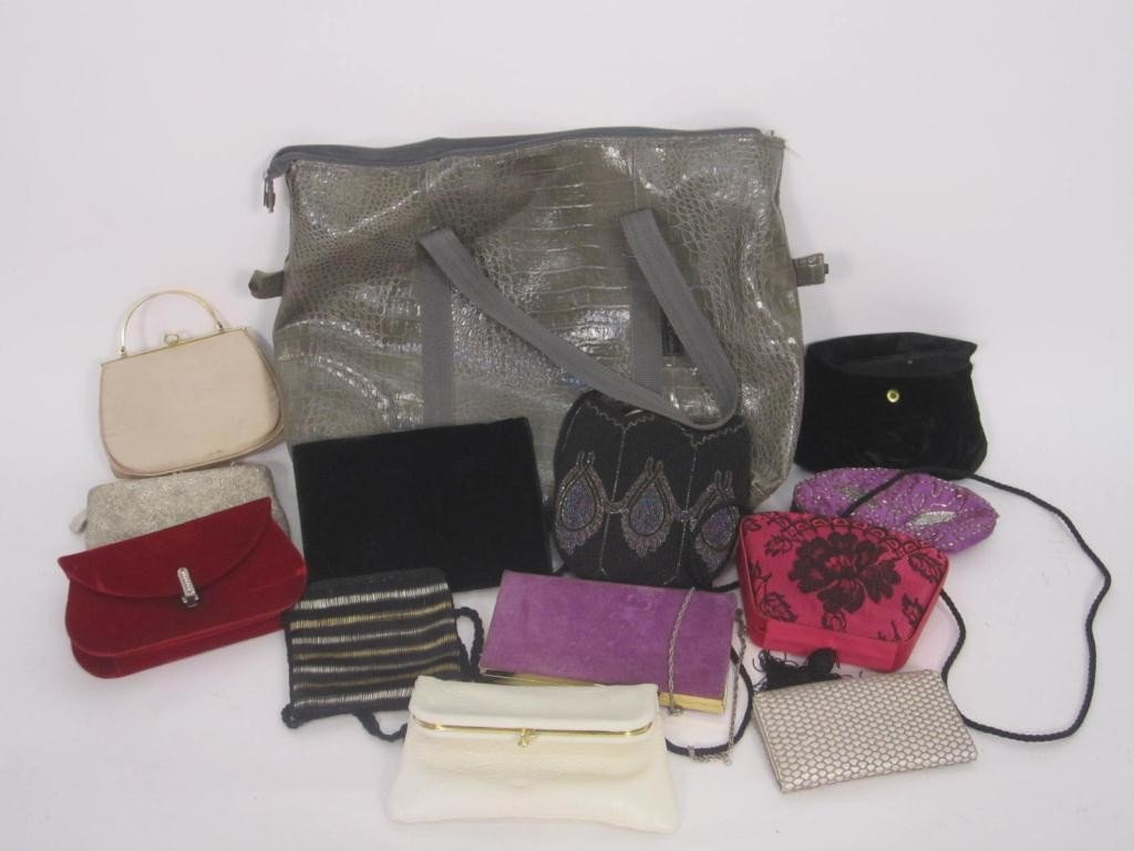 15: Assorted Lot of Ladies Purses and Handbags