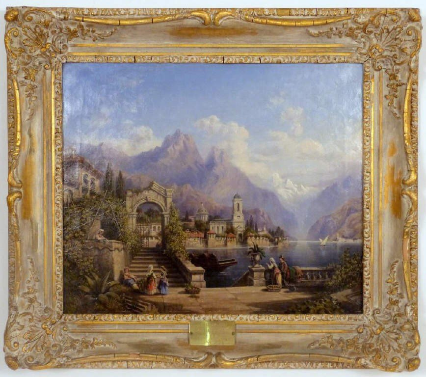326: After James Baker Pyne (1800-1870) - Italy