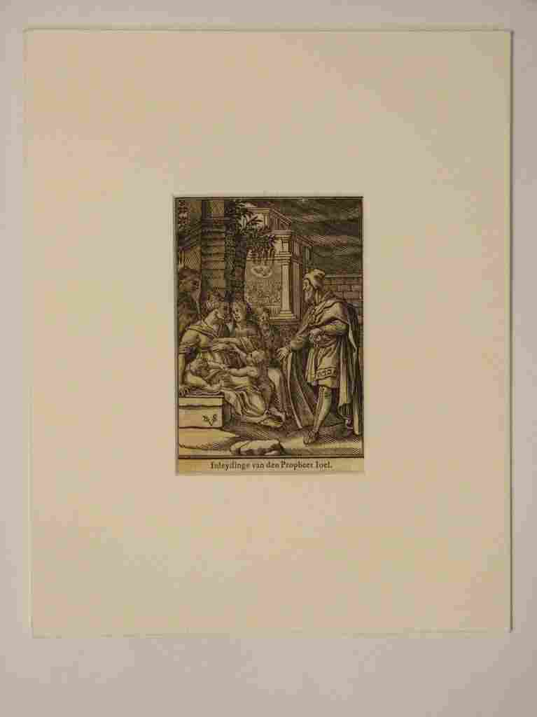 321: Assorted Old Master Etchings and Book Prints