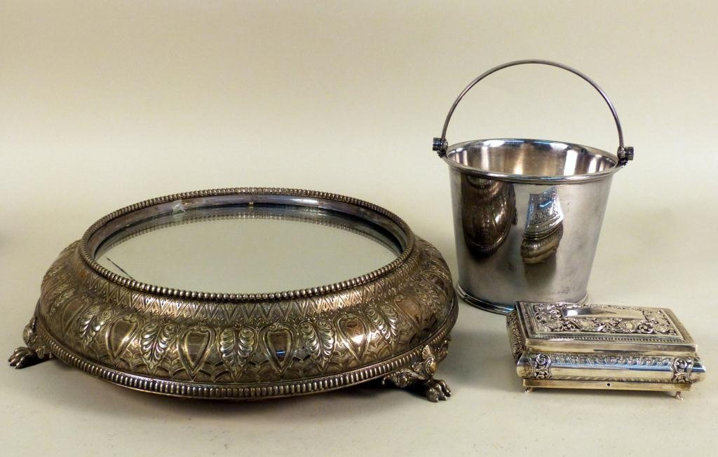 14: Assorted Silverplate