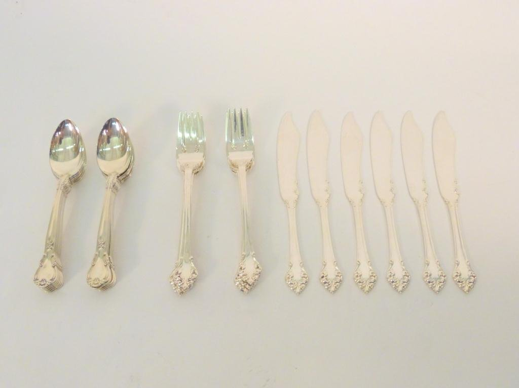 13: Assorted Lot of Sterling Silverware