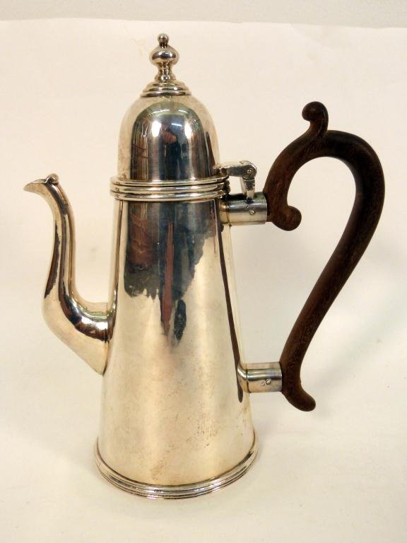 5: South American Sterling Silver Tea Pot